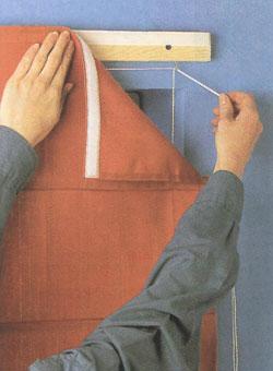 Карниз для римских штор своими руками мастер класс.