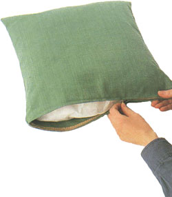 Сшить чехол для подушки без молнии